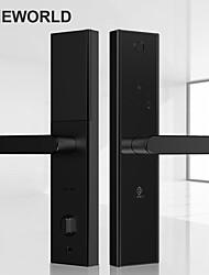 Недорогие -Pineworld L5 безопасности интеллектуальный биометрический замок отпечатков пальцев с Wi-Fi пароль RFID Bluetooth приложение удаленной разблокировки