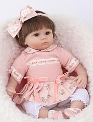 Недорогие -NPK DOLL Куклы реборн Куклы Мальчики Девочки 18 дюймовый Безопасность Подарок Очаровательный Детские Универсальные / Девочки Игрушки Подарок