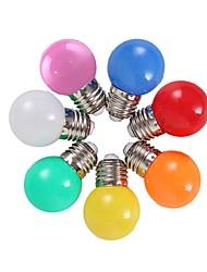 Недорогие -Цветные E27 2 Вт энергосберегающие 6 светодиодные лампочки глобус лампы DIY 6 цвет яркий