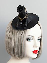 Недорогие -Жен. Массивный Винтаж Мода Шнур Искусственный жемчуг Ткань шляпа Заколки для волос Halloween Тематическая вечеринка