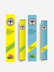 Недорогие -moman одноразовый аромат vape манго, прохладный аромат мяты, натуральный и натуральный 1 шт. стикер vape электронная сигарета для взрослых