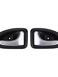 Недорогие -2 шт. Левый правый боковой двери автомобиля ручка ручки ручки для Renault Clio