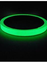 Недорогие -светоотражающая лента наклейки для автомобилей diy свет световой предупреждение свечение в темноте ночные защитные чехлы паста аксессуары модели 10 мм х 10 метров