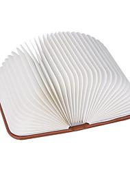 Недорогие -1 шт. Из светодиодов ночной свет творческий книга в форме с изменением цвета USB 5 В