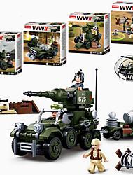 Недорогие -Конструкторы 1 pcs совместимый Legoing трансформируемый Все Игрушки Подарок