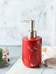 Недорогие -Nordic мраморная текстура 300 мл керамический дозатор мыла четыре цвета по желанию кухня дезинфицирующее средство для рук бутылка гель для душа бутылка аксессуары для ванной