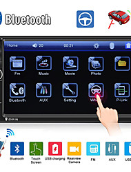Недорогие -SWM 7018B 7 дюймов 2 дин другие ОС автомобиля MP5-плеер / автомобильный MP4-плеер / автомобильный мультимедийный плеер с сенсорным экраном / MP3 / встроенный Bluetooth для универсального RCA