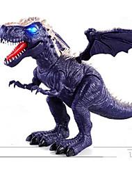 Недорогие -Драконы и динозавры Наборы для моделирования трицератопс Динозавры Юрский динозавр Электрический пластик Детские Игрушки Подарок
