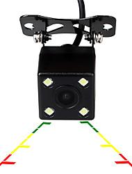 Недорогие -Ziqiao универсальный 4 светодиодный автомобиль ночного видения обратный мониторинг автоматическая парковка водонепроницаемый 170-градусный HD резервная видеокамера