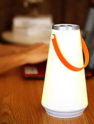Недорогие -Brelong светодиодный творческий ночной свет дома настольная лампа USB аккумуляторная портативный беспроводной сенсорный выключатель открытый кемпинг аварийное освещение 1 шт.
