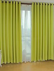 Недорогие -плотные шторы шторы две панели гостиная полиэстер жаккард
