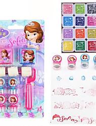 Недорогие -3шт ребенка Корея Стиль канцелярские ролика марка резины ремесло шаблон этикетки индексы& марки