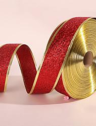 Недорогие -Новогодние украшения ленты