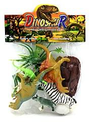 Недорогие -Ролевые игры Динозавр пластик Игрушки Подарок 6 pcs