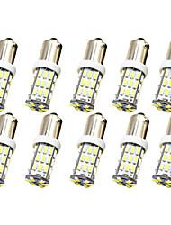 Недорогие -10 шт. Ba9s t4w bax9s h6w авто светодиодные лампы 1 Вт smd 3014 250 лм 42 светодиодный боковой маркер автомобиля чтение карты дверь купол лампа интерьер номерного знака свет белый теплый белый dc 12 В