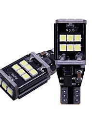 povoljno -2pcs / lot t15 w16w 921 912 rezervne svjetiljke 3030 led 15 smd auto sigurnosna sijalica stražnja svjetiljka canbus 12v bez obc greške 6500k bijela