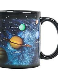 billige -magisk kaffekrus solsystem keramisk varmefølsom fargeskift