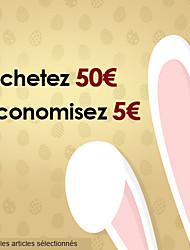 Buy 50€+ save 5 €