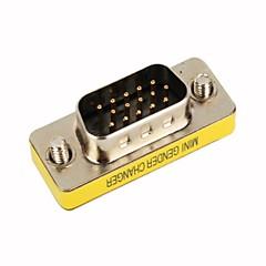 ieftine -vga 15-pini de sex masculin la adaptor convertor de sex masculin (smqc048)