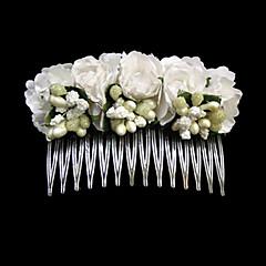 pente de penteado de papel de aço inoxidável estilo feminino clássico