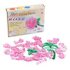 olcso -mini diy 3d Crystal Rose puzzle