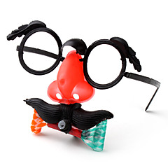 tanie Zabawki nowoczesne i żartobliwe-nos okulary śmieszne maski (różne kolory)