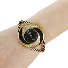cheap -Women's Watch Bracelet Whirlwind Circle Style Gold Strap Watch Alloy  Cool Watches Unique Watches Fashion Watch