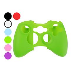 Xbox 360コントローラー(分類された色)の保護シリコンケース