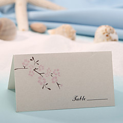 cheap Wedding Reception-Place Cards and Holders Place Card - Peach Blossom (Set of 12)