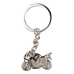 metalli hopea jäähtyä moottoripyörän avaimenperä