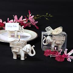 Aasialainen teema / Klassinen teema / Satu-teema / Baby Shower Candle suosii Kukin / Set Candle Holders Non-personalised Valkoinen