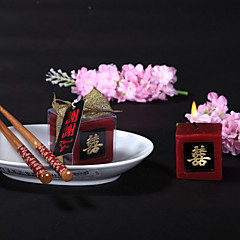 Asya Teması Mum Şekerleri Adet / Set Mumlar Kişiselleştirilmemiş Kırmızı