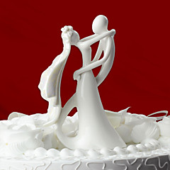 cheap Cake Toppers-Cake Topper Classic Theme Classic Couple Ceramic Wedding Bridal Shower With Gift Box