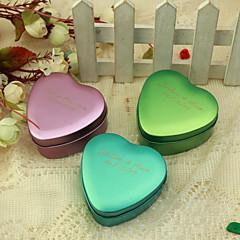 preiswerte Gastgeschenk Boxen & Verpackungen-Herz Kreativ Metal Geschenke Halter mit Muster Geschenkboxen