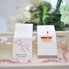 billige Bryllupsdekorasjoner-Bryllup / Fest Materiale Hardt Kortpapir Bryllupsdekorasjoner Blomster Tema / Bryllup Vår Sommer Alle årstider