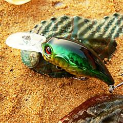 billiga Fiskbeten och flugor-1 pcs Hårt bete / Veva / Fiskbete Hårt bete / Veva Hårt Plast Sjöfiske / Färskvatten Fiske