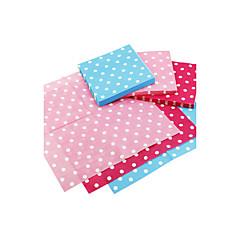servetten - polka dot - set van 20 (meer kleuren) huwelijksreceptie