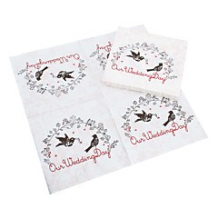 cheap Wedding Napkins-100% virgin pulp Wedding Napkins - 20pcs Beverage Napkins Wedding Anniversary Birthday Engagement Party Bridal Shower Garden Theme