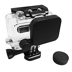 baratos Câmeras Esportivas & Acessórios GoPro-Acessórios Tampa da Lente Alta qualidade Para Câmara de Acção Gopro 3 Gopro 2 Sport DV ABS Other