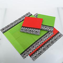 Guardanapos de cor sólida com laciness (mais cores) recepção de casamento