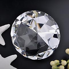 tanie Prezenty dla Panny Młodej-prezenty druhna prezent spersonalizowane kryształ w kształcie rombu pamiątkę