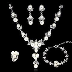 tanie -Biżuteria Ustaw Damskie Rocznica / Ślub / Zaręczynowy / Urodziny / Prezent / Strona / Codziennie / Piękny Jewelry Sets StopPearl imitacja