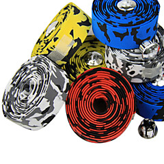 cheap Bike Parts & Components-Handlebar Tape Road Bike Aluminium Alloy White Yellow Red Blue