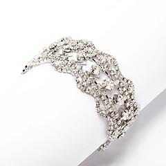 Элегантный сплав с горный хрусталь Женская браслет (больше цветов)