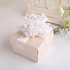 キュービック カード用紙 好意のホルダー とともに 花 リボン ラッピングボックス/ギフトボックス