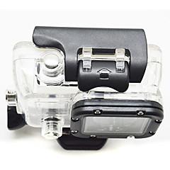 tanie Kamery sportowe i akcesoria GoPro-Příslušenství etui Wysoka jakość Dla Action Camera Gopro 2 Gopro 1 Sport DV Plastikowy