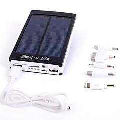 billige Eksterne batterier-Til Power Bank Eksternt batteri 5 V Til # Til Batterilader Flere utganger / Solenergilading LED / Li-polymer / Universell