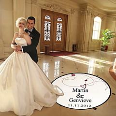 billige Bryllupsdekorasjoner-bryllupet innredning personlig hjerte og linje dansegulvet merket (flere farger)