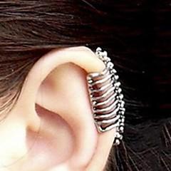 Damskie Ear Cuffs biżuteria kostiumowa Stop Skull shape Biżuteria Na Impreza Codzienny Casual