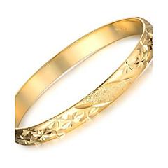 olcso -Női Bilincs karkötők Egyedi Divat jelmez ékszerek Arannyal bevont Kagyló 18K arany Ékszerek Ékszerek Kompatibilitás Esküvő Parti Napi